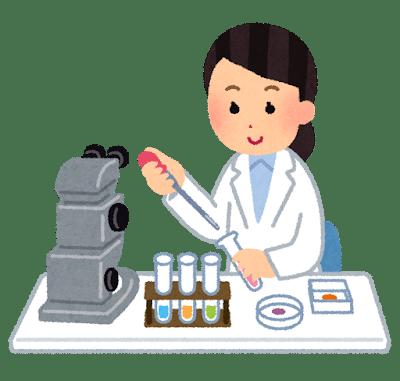 PCR検査する人